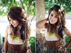 DIY:// feather hair accesories!