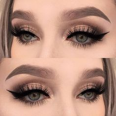 Eye Makeup Tips.Smokey Eye Makeup Tips - For a Catchy and Impressive Look Prom Eye Makeup, Clown Makeup, Skin Makeup, Wedding Makeup, Makeup Brushes, Beauty Makeup, Halloween Makeup, Rave Makeup, Witch Makeup