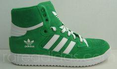 on sale 00244 1482c adidas rare   Adidas Centennial Mid Green Suede 10   Rare adidas Originals