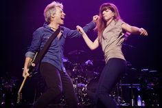 "Sixteen years after they first danced to the song together on stage, Jon Bon Jovi and his daughter Stephanie shared the stage for a performance of ""I've Got the Girl"""