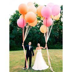 Mega ballonnen wit