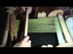 ▶ Rigid Heddle Weaving with PattyAnne - Beginning Pick Up Stick - YouTube