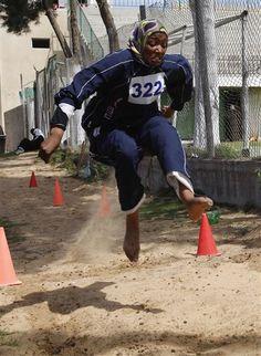 Muslim Women in SPORTS: Women race in rare track meet in Hamas-ruled Gaza