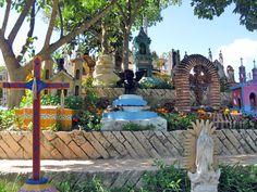 Le Cimetière de Xcaret (Mexique) – Crédit Photo : Dtraveller Cancun – Licence CC BY-NC-ND 2.0