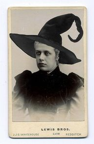 Vintage witch photoshop