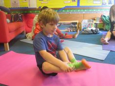 Unlocking our joints to help them prepare for yoga