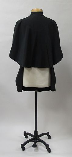 Evening jacket Charles James (American, born Great Britain, 1906–1978)  Date: 1937–38 Culture: American. Back