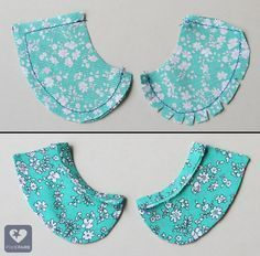This week, I show you how to spruce up a tee by adding a basic, Peter-Pan style collar. I'm going to use the Liberty Jane Trendy Tee pattern (download it for FR