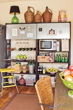Open Pantry Shelves