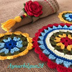 1 million+ Stunning Free Images to Use Anywhere Crochet Leaf Patterns, Crochet Leaves, Crochet Chart, Crochet Squares, Crochet Curtains, Crochet Tablecloth, Crochet Doilies, Crochet Home, Knit Crochet