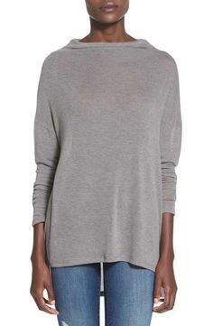 LeithLong Sleeve Cowl Neck Pullover