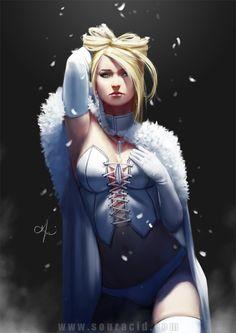 Emma Frost by SourAcid.deviantart.com on @DeviantArt