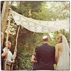 huppah symbolism: http://apracticalwedding.com/2010/06/how-a-wedding-can-maybe-shape-a-marriage/