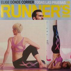 """¡No os perdáis al artículo de Runner's World """"Beneficios del yoga para corredores""""! En él, la profe Fátima Navarro explica cómo correr de forma más equilibrada con un precioso look #LornaJane :)"""