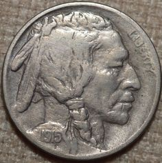 1915 5C Buffalo Nickel Fine+ KM 134-FREE USA SHIP-FN+