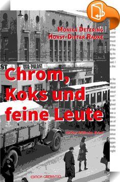 Chrom, Koks und feine Leute    ::  1956 ist der Mord an der Prostituierten Thekla immer noch nicht aufgeklärt. In seiner Mülheimer Villa wird der Autohändler Fölsch tot aufgefunden. Seine Familie gerät unter Verdacht. Der Staatsanwalt hat Gründe, nicht auf Mord zu plädieren. Die Ermittlungen werden bis Köln ausgedehnt. Bei einer Verfolgungsjagd kommt Kriminalinspektor Alfred Poggel der Lösung des Falles näher. Währenddessen sorgt sich seine Vermieterin Anna Puff um ein Mädchen, das in ...