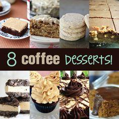 8 coffee desserts