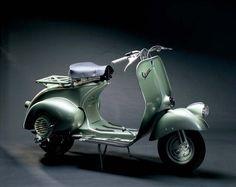 Vespa #vintage #green