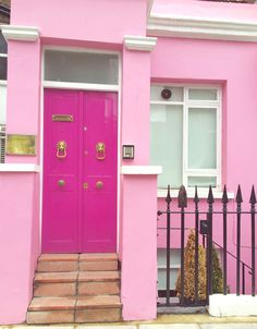 Dream home in Notting Hill #bbloggers #fbloggers #inspo #dreamhome #london