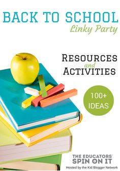 Back to School Resources and Activities for Parents and Kids
