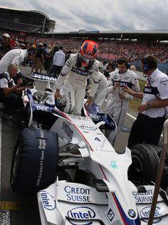 Robert Kubica, BMW Sauber F1 Team 2008/07/17 para 2008/07/20 Hockenheim
