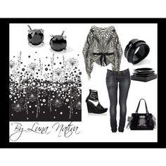 """Black and White"" by Luna Nativa"