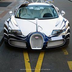 Bugatti L'Or Blanc  Follow @BugsWorldWide for more insane Bugatti lifestyle photos @BugsWorldWide  Photo by @asautomobiles