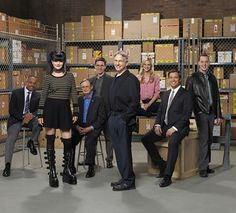 The rest of the NCIS team look great and all, but they're just not on Abby's level.