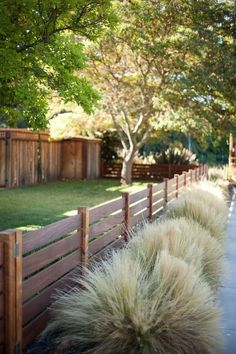 san francisco simple front yard landscape transitional with mass planting contemporary deck railings horizontal fence