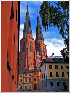 Uppsala, Sweden is where I did a year abroad in college. A great year.