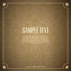 http://br.freepik.com/vetores-gratis/teste-padrao-floral-do-vintage-design-sem-costura_713062.htm