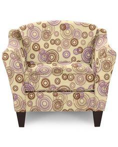 Demi Stationary Occasional Chair by La-Z-Boy