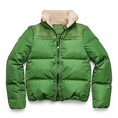 Coach Legacy Down Puffer - comfy and warm for chilly winter weather.