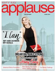 #ClippedOnIssuu from June 2016 Applause Magazine Mary Kay Philippines