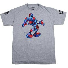 Neff Big Boys' Youth Mickey Perennial T-Shirt, Athletic Heather, Large * Read more reviews of the product by visiting the link on the image.