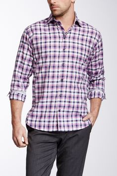 Mixed Print Shirt on HauteLook