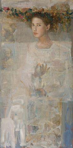 Mersad Berber - Flora from Dubrovnik III (2000) 120 x 60 cm