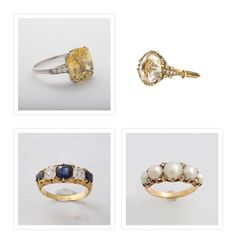 I love the yellow sapphire ring! My husband proposed with my natural yellow sapphire engagement ring!