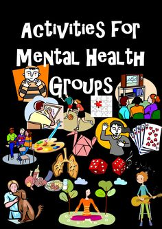 Activities for Mental Health Groups Coping Skills Activities, Ot Activities For Geriatrics, Music Therapy Activities, Relaxation Activities, Brainstorming Activities, Educational Activities, Social Work Activities, Wellness Activities, Occupational Therapy Activities