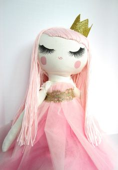 Custom Order Cloth Doll by Mend by Ruby Grace by MendbyRubyGrace, $100.00