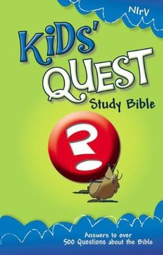 NIrV Kids' Quest Study Bible: Real Questions, Real Answers (New International Readers Version) Price:$19.76
