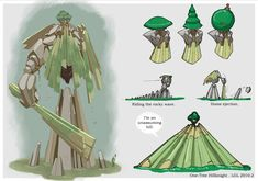One-Tree Hillknight _ lgliang @deviantART