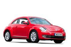 Volkswagen Beetle Hatchback Red