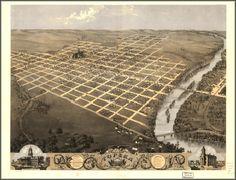Topeka, Kansas, circa 1850.