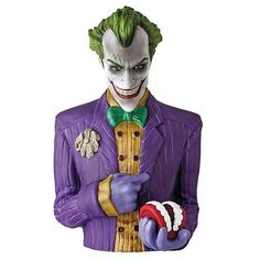 Official #batman arkham asylum joker #collectable #money bust bank box - figure n,  View more on the LINK: http://www.zeppy.io/product/gb/2/371629820021/