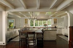 On the Eastern Shore - traditional - kitchen - dc metro - by Jennifer Gilmer Kitchen & Bath