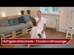 ➡️ Hüftgelenkblockade selber lösen ⬅️ - Übungen mit der Faszienrolle   Liebscher & Bracht - YouTube
