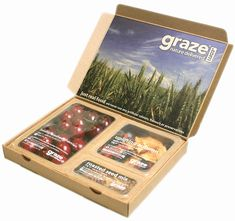 Graze Box - Sustainable Packaging Design #packaging #design #packagingdesign