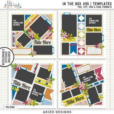 In The Box 05 | Templates by Akizo Designs