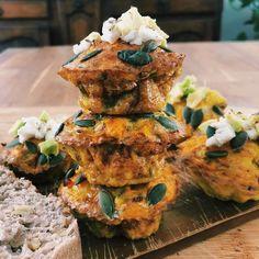Manger Healthy, Brunch, Egg Muffins, The Breakfast Club, Grubs, Tandoori Chicken, Salmon Burgers, Sweet Recipes, Health And Wellness